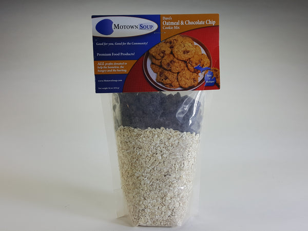 Motown Soup Company Chocolate Chip Oatmeal Cookie Mix