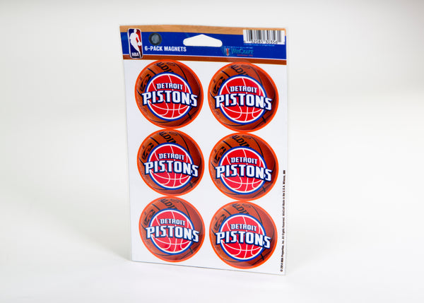 Detroit Pistons Magnets