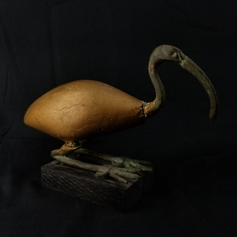 Ancient Egyptian Ibis Statue