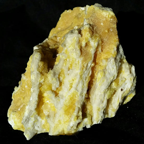 Sulfur Crystal Formation (Sicily, Italy)