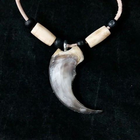 Black Bear Claw Necklaces