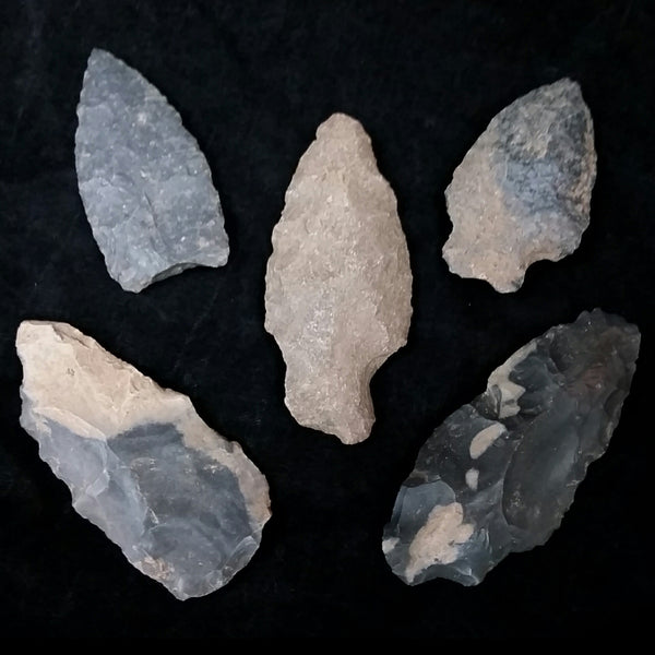 Ancient Pueblan Arrowheads