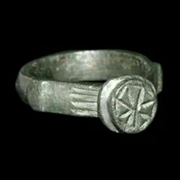 Ancient Byzantine Cross Ring