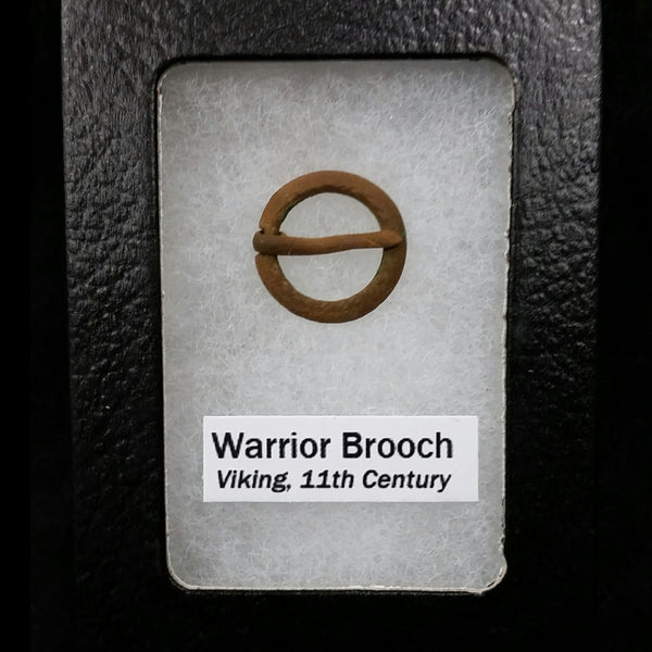Viking Warrior Protective Brooch B