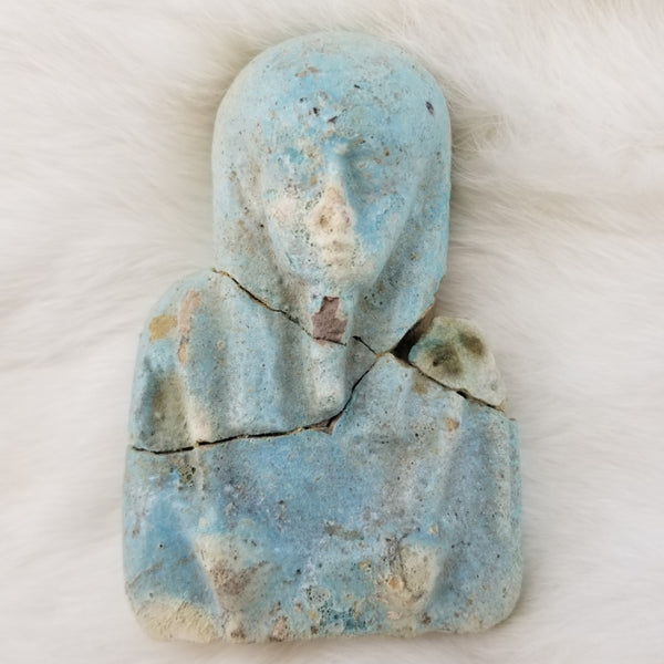 Ancient Egyptian Faience Ushabti, XL