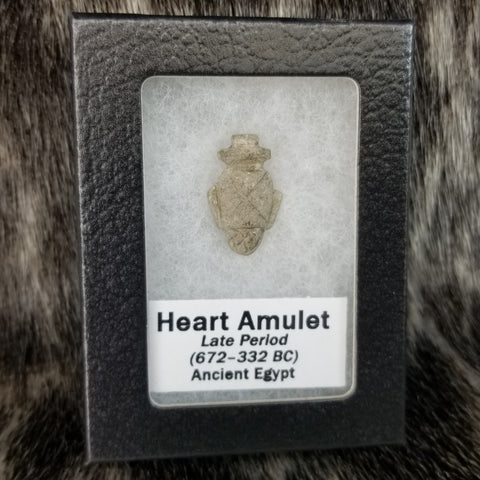 Ancient Egyptian Funerary Heart Amulet A