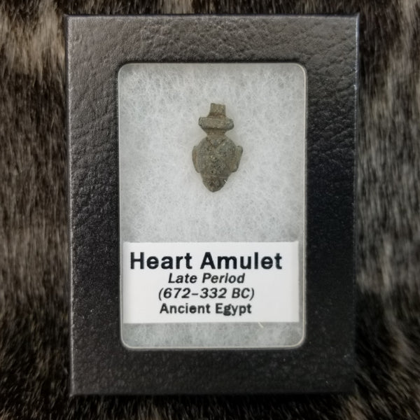 Ancient Egyptian Funerary Heart Amulet C
