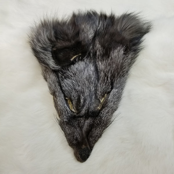 Silver Fox Face Fur (SALE)