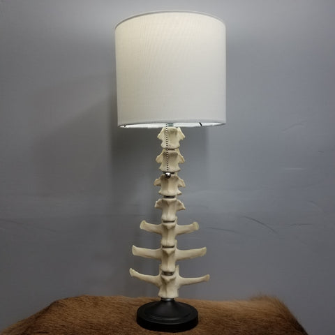 Caribou Spine Lamp