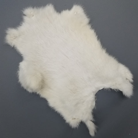 Rabbit Fur, White