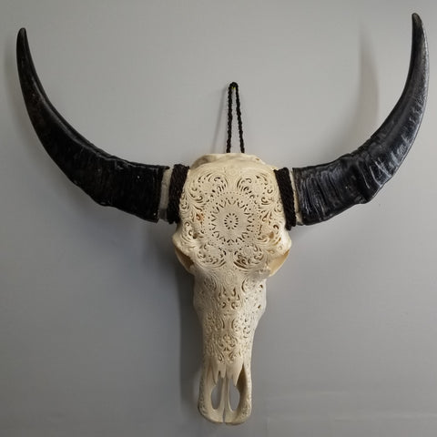Water Buffalo M (Mandala Carvings)