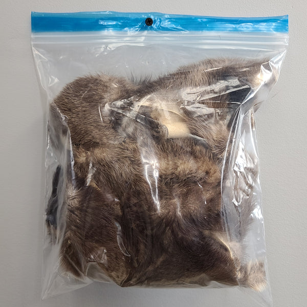 Otter Fur Scraps, Clearance Bags