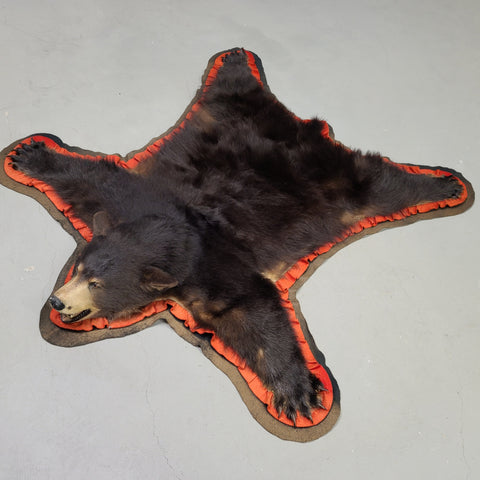 Black Bear Rug (CLEARANCE)