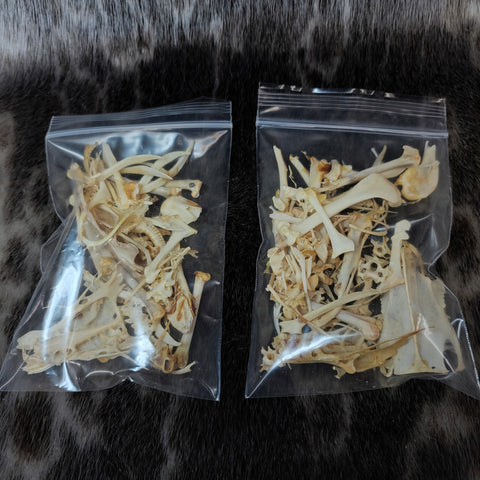 Carrion Crow Bone Bags