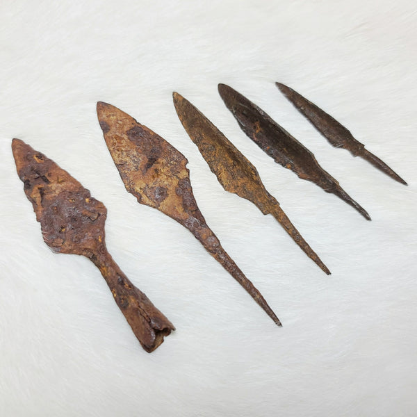 Ancient Chinese Iron Points