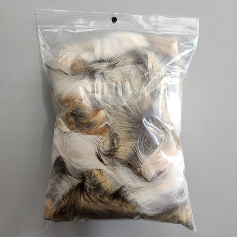 Coyote Fur Scraps, Clearance Bags