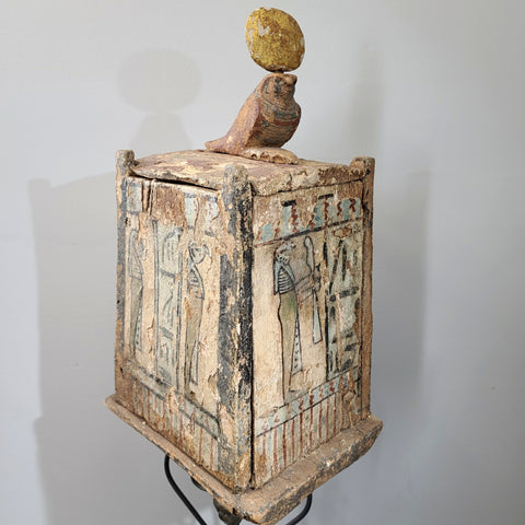 Ancient Egyptian Canopic Box