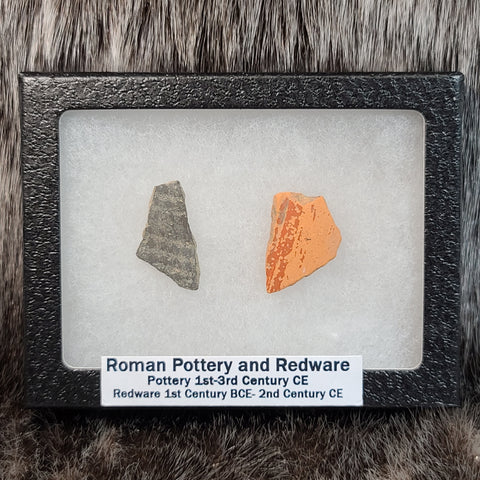 Ancient Roman Redware Pottery Sherd Sets