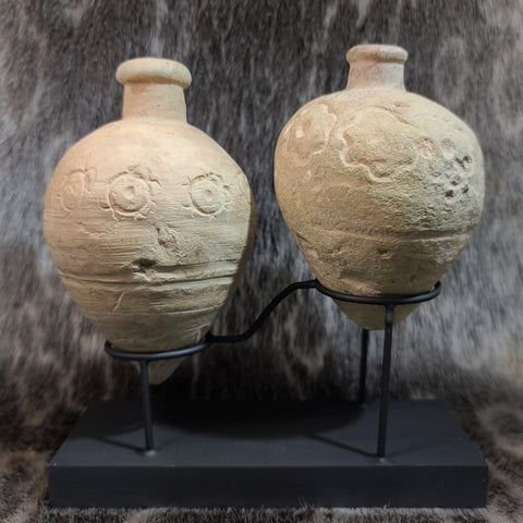 "Ancient ""Greek Fire"" Hand Grenade (Flower Pair)"
