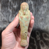 Ancient Egyptian Faience Ushabti M (XL)