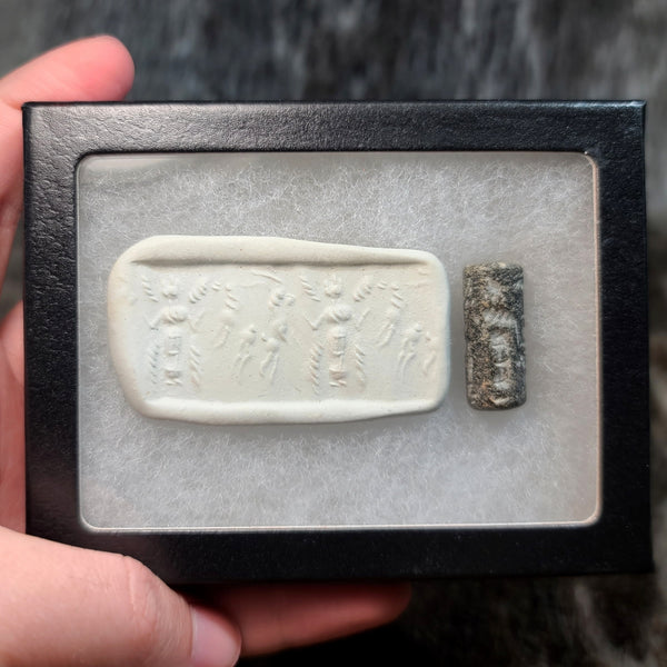 Ancient Egyptian Cylinder Seal, C