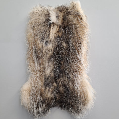"American Badger Fur Segments (12-15"")"