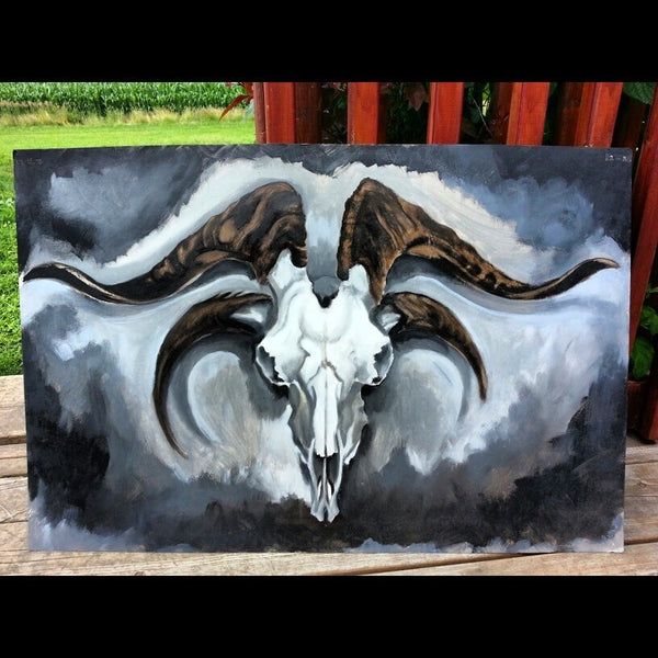 Jacob's Ram Painting