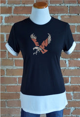 EWU Eagles, Colorblock Tee