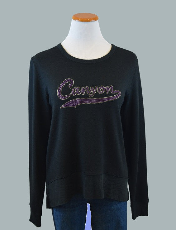 Grand Canyon University, Curved Hem Sweatshirt
