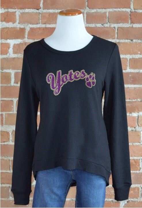 College of Idaho, Curved Hem Sweatshirt