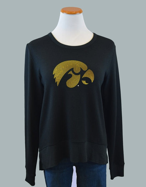 The University of Iowa, Curved Hem Sweatshirt