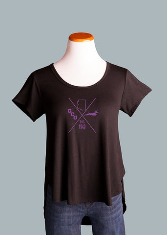 Grand Canyon University Side Slit Tee