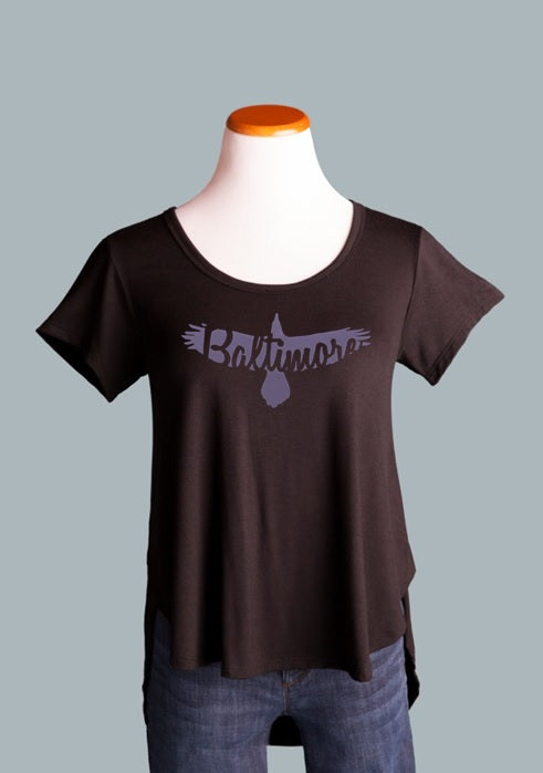 Baltimore Side Slit Tee