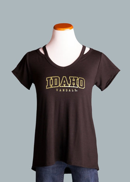 Idaho Vandals Shoulder Detail Tee