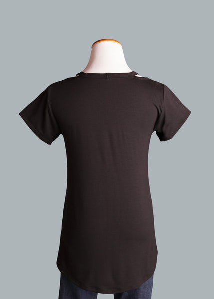 NNU Shoulder Detail Tee