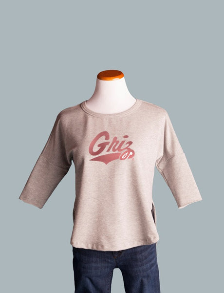 UM Griz Cut Out Sweatshirt