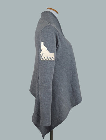 Idaho HOME Fleece Cardigan