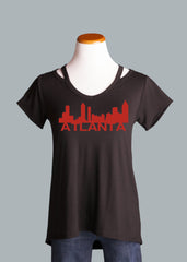 Atlanta Shoulder Detail Tee