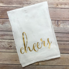 Cheers Flour Sack Towel