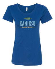 Kaniksu Land Trust Ladies SS Crew Tee