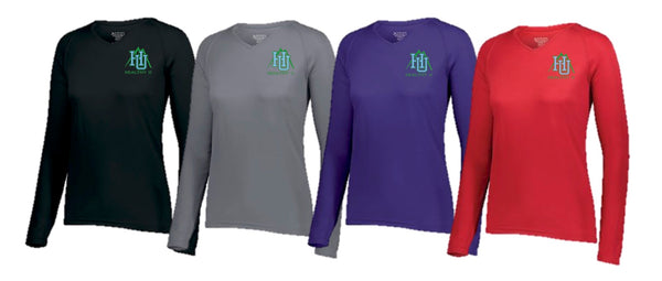 BGH HEALTHY U Long Sleeve LADIES Tech Tee