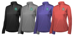 BGH HEALTHY U LADIES Quarter Zip Lightweight Pullover