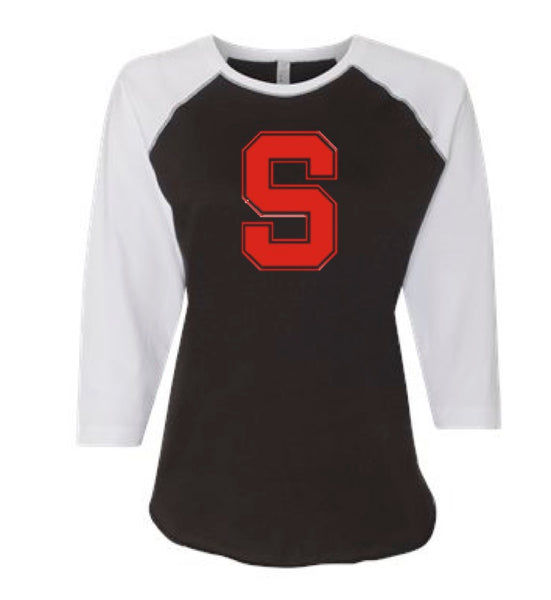 Sandpoint Ladies Baseball Tee