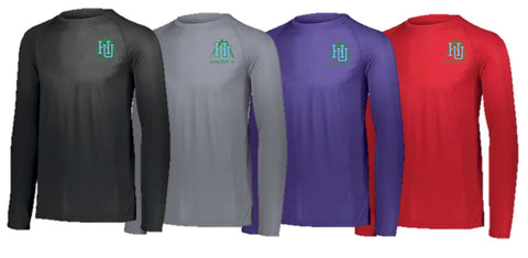 BGH HEALTHY U Long Sleeve UNISEX Tech Tee