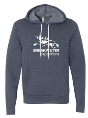 Breakwater Heather Navy Hoodie