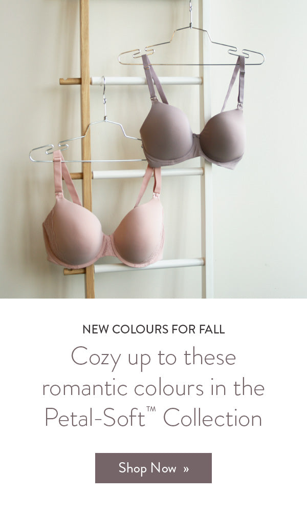New Dawn Buttercup Nursing Bra & Rose Dust Belle Underwire Nursing Bra