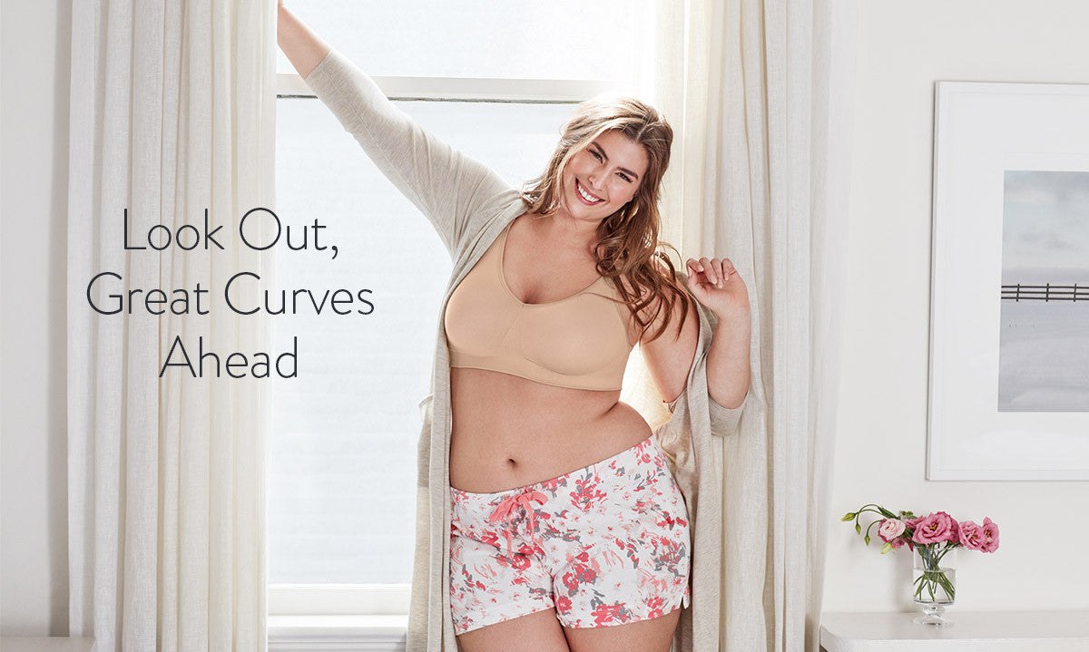 Plus Size Nursing Bras & Tanks