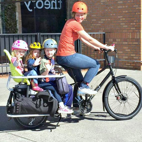 Kids on an Xtracycle