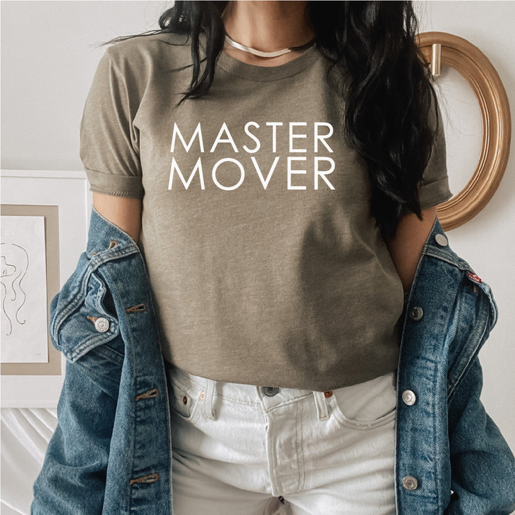 READY TO SHIP Master Mover (Black Lettering) Adult T-Shirt
