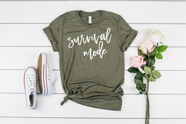 Survival Mode Adult T-Shirt